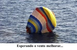 Balão - esperando o vento melhorar