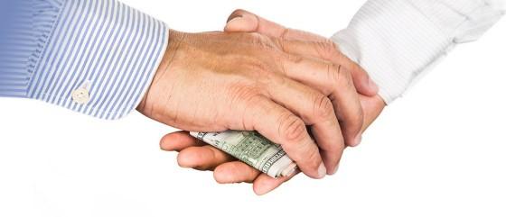 mãos dinheiro